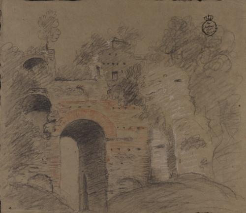 Arco Felice (camino de Nápoles a Cumas)