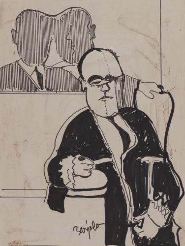 Retrato masculino (magistrado?)