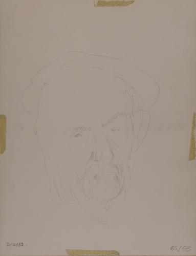 Estudio para un retrato de Pío Baroja