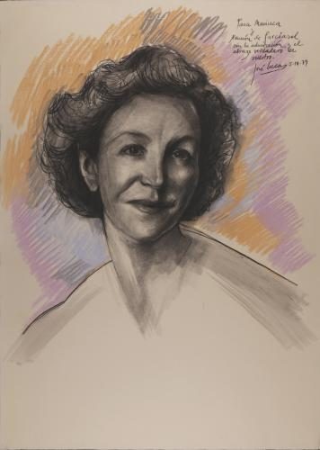 Retrato de María del Pilar Falcó