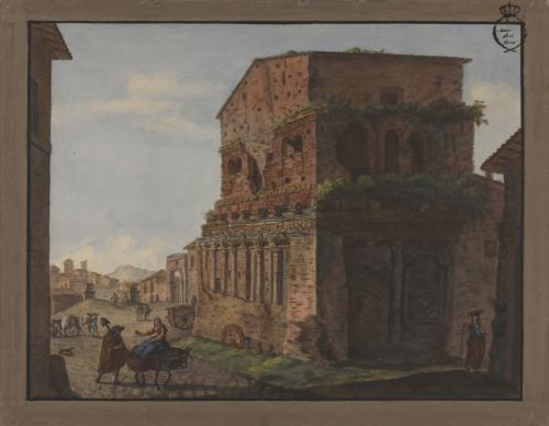 Vista de la llamada Casa de Pilatos