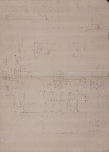Apuntes del Pórtico de Octavia [y de Livia] en Roma (4)