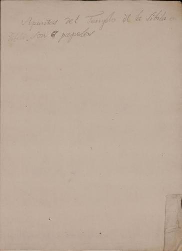 Medidas del Templo de Vesta en Tivoli (2)