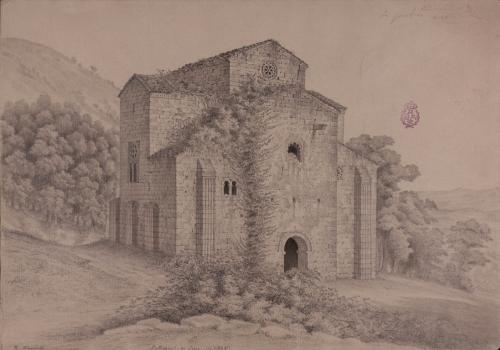 Iglesia de San Miguel de Lillo (Asturias). Exterior.
