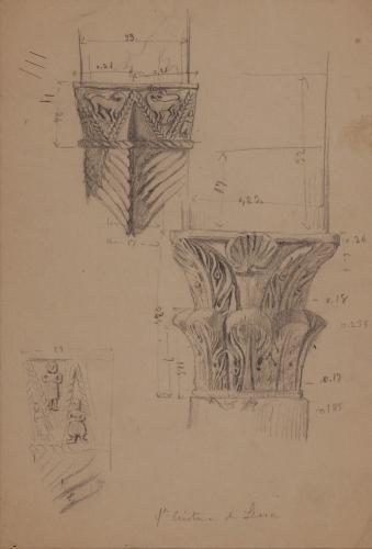Estudio de dos capiteles de Santa Cristina de Lena (Asturias)