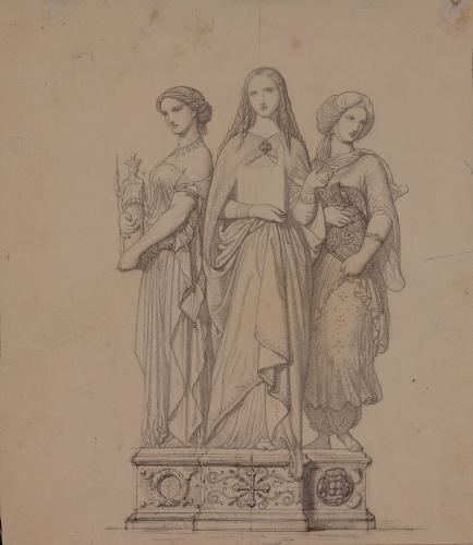 Alegoría del arte pagano, cristiano y mahometano
