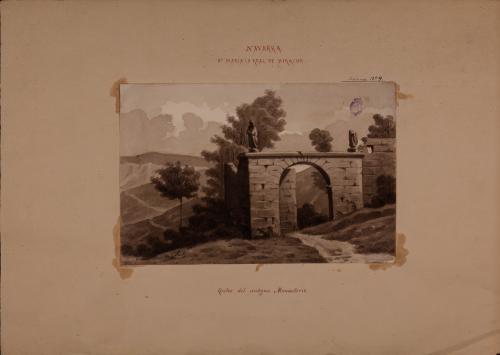 Estudio de los restos del antiguo monasterio de Irache (Navarra)
