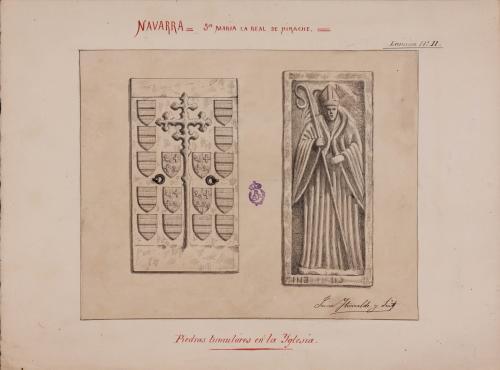Laudas sepulcrales del monasterio de Irache (Navarra)