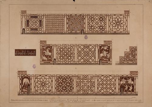 Pinturas del zócalo de la torre del convento de Santo Domingo (Segovia)