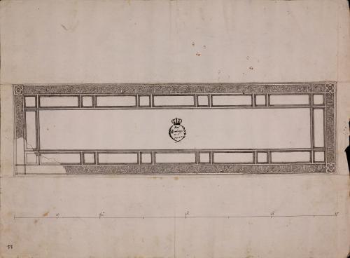 Lauda sepulcral con inscripción árabe