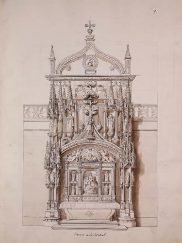 Trascoro de la catedral de Oviedo