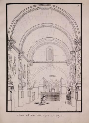 Vista del interior de la Cámara Santa de la catedral de Oviedo