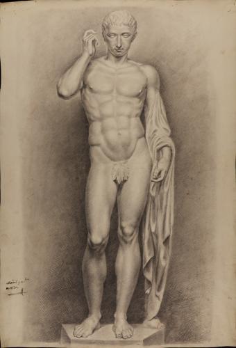 Estudio de la escultura de Claudio Marcelo, anteriormente identificada como Germánico