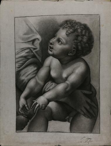 Estudio del Niño Jesús de la Sagrada Familia, conocida como