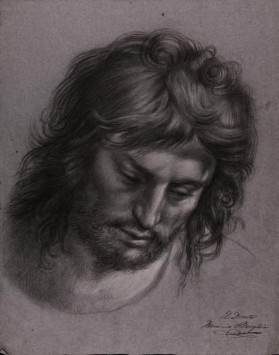 Estudio de la  cabeza de San Juan