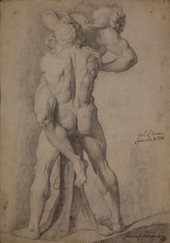 Estudio de Hércules y Anteo