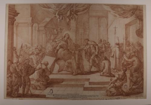 Estudio de la aparición de Santa Leocadia a San Ildefonso