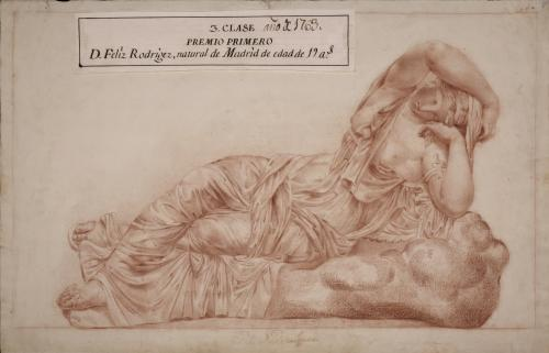 Estudio de Ariadna dormida