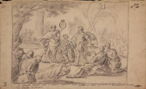 Estudio de la disputa en Juan de Urbina y Diego de Paredes por las armas del marqués de Pescara