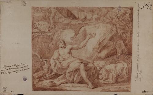 Estudio de Daniel en el foso de los leones
