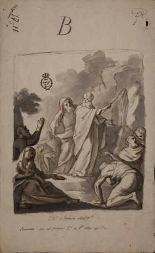 Estudio de Moisés en el desierto