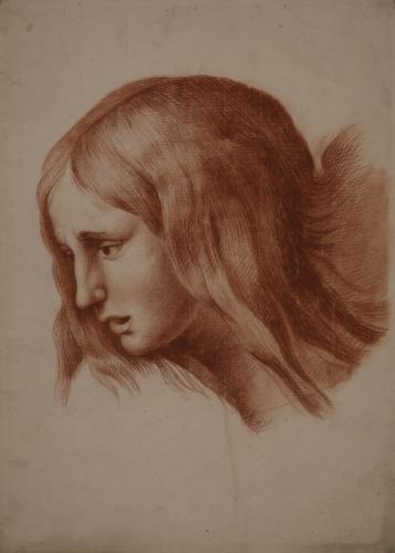 Estudio de la cabeza de la Magdalena del Pasmo de Sicilia