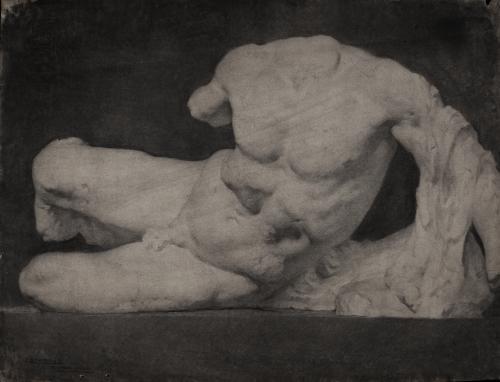 Estudio de la escultura del rio Ilisos