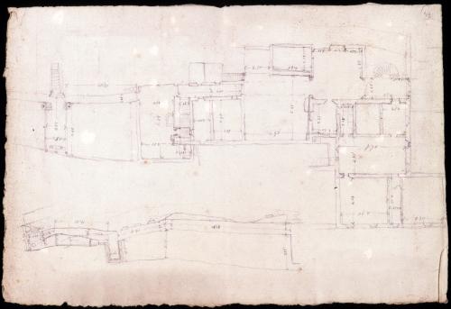 Plano general de un conjunto de edificaciones.