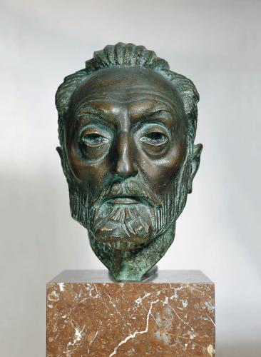 Cabeza de Miguel de Unamuno