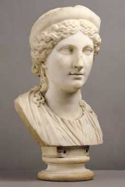 Cabeza de Afrodita