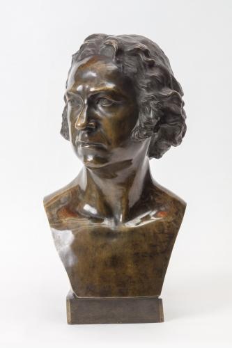 Cabeza de Francisco de Goya