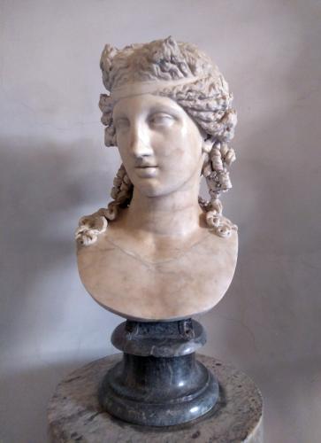 Cabeza de Dionisos Tauros