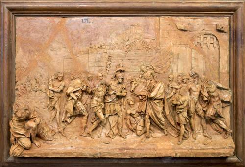 El cónsul Cayo Hostilio es entregado a los numantinos por su sucesor Publio Lucio Furio