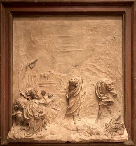 Moisés y el becerro de oro