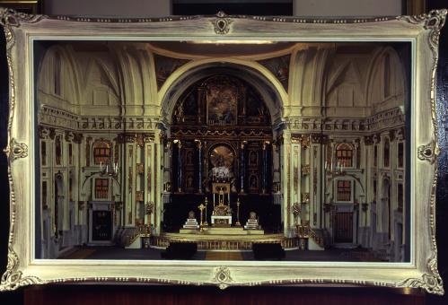 Maqueta de la Capilla Mayor de la Catedral de San Isidro