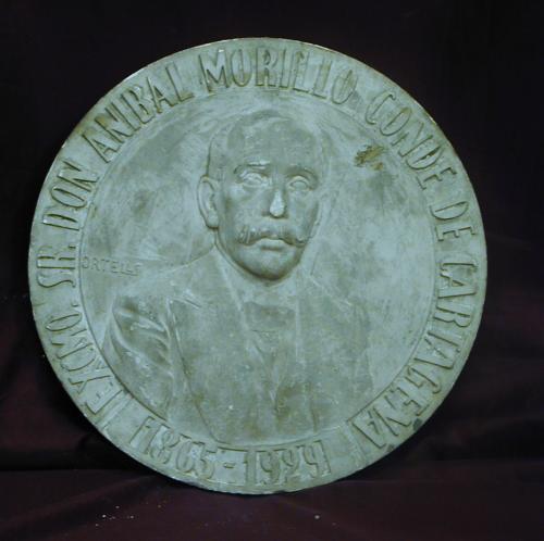 Conde de Cartagena (Boceto de medalla, verso )