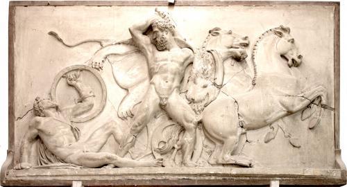 Hércules : Muerte de Diomedes