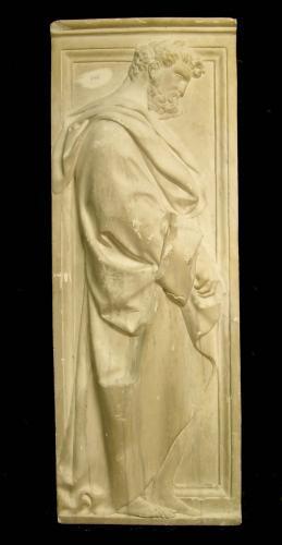 Relieve con un apóstol (coro de la Catedral de Florencia)