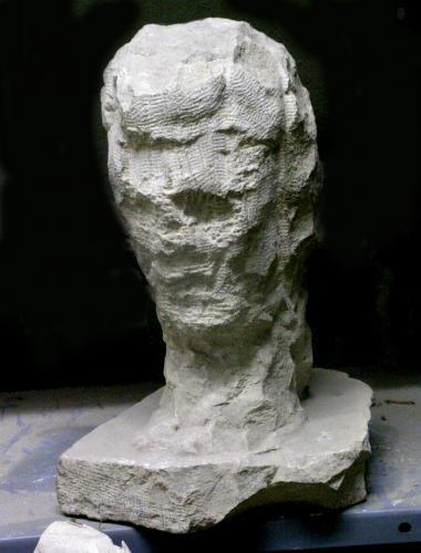 Boceto de cabeza masculina