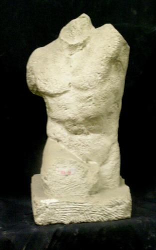 Torso masculino (copia del Gladiador Borghese)