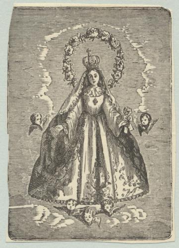 [Virgen con querubines]