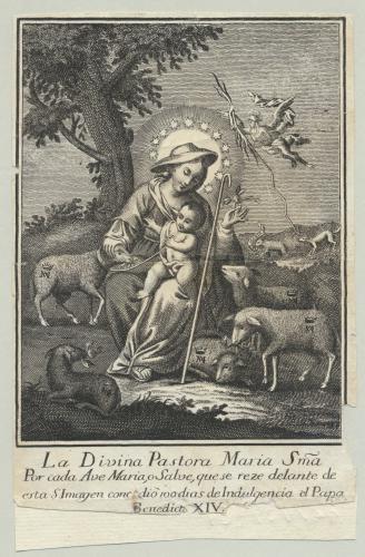 La Divina Pastora Maria Sma