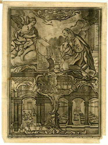 [Anunciación], Virgo de Gracia Regia