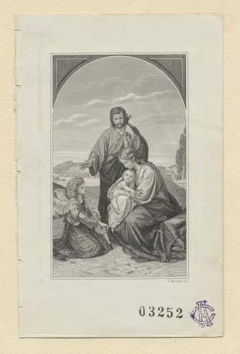 [Jesús, María y José]