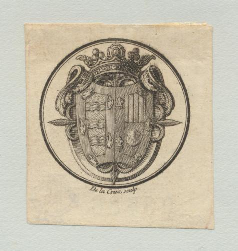 [Escudo de armas de Juan de Dios Aguayo Manrique Muñil de Godoy, marqués de Santaella]