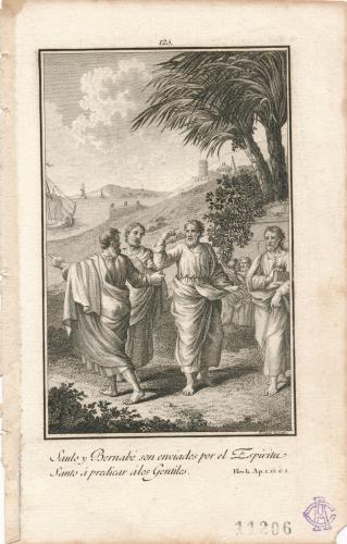 Saulo y Bernabé predican a los gentiles