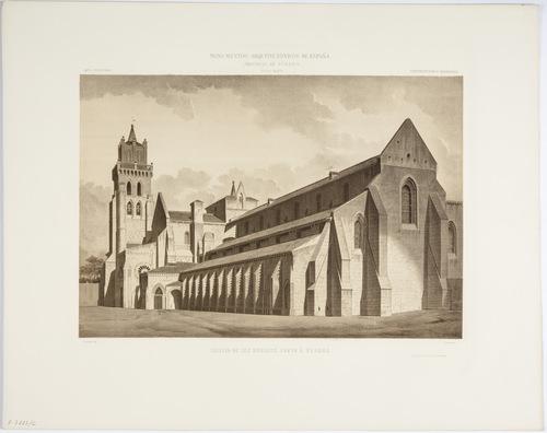 Burgos. Iglesia de las Huelgas junto a Burgos