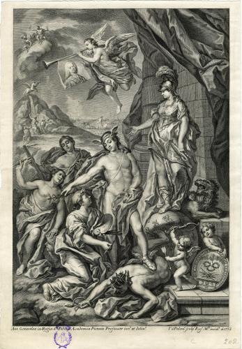Alegoría de la Fundación de la Real Academia de Bellas Artes de San Fernando