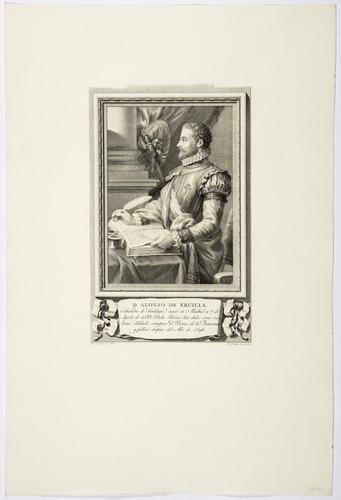 D. Alonso de Ercilla