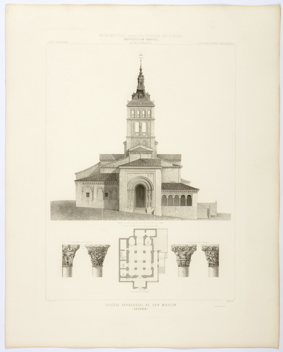 Segovia. Iglesia parroquial de San Martín